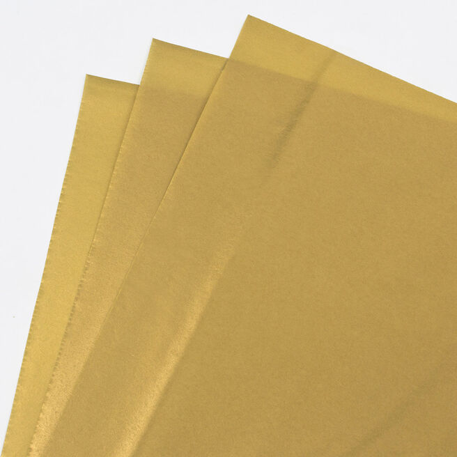 Gold Tissue Paper - 7 Sheets