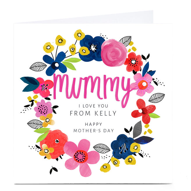 Personalised Kerry Spurling Mother's Day Card - Mummy