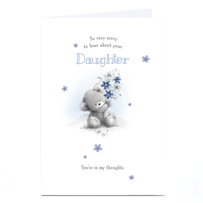 Personalised Sympathy Card - You're In My Thoughts