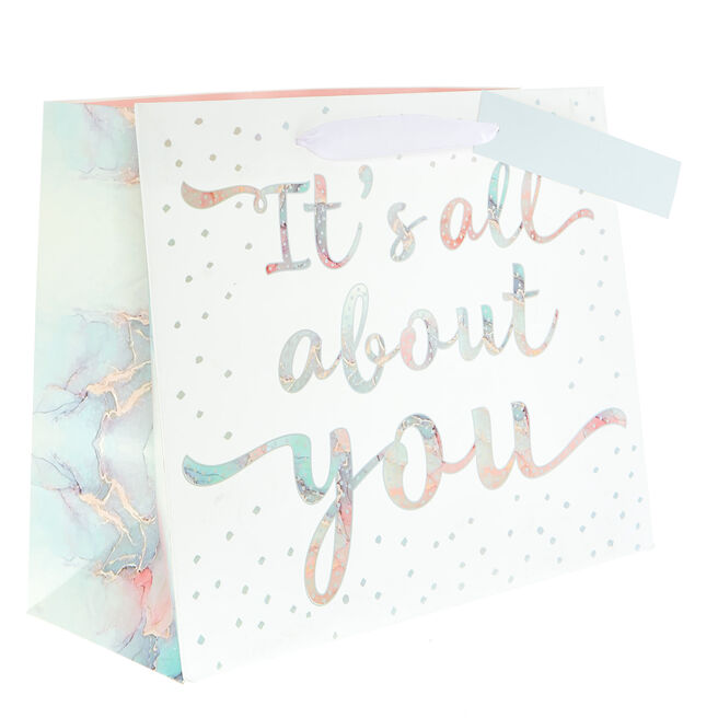 Medium Landscape Gift Bag - It's All About You