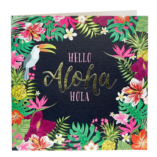 Any Occasion Card - Aloha