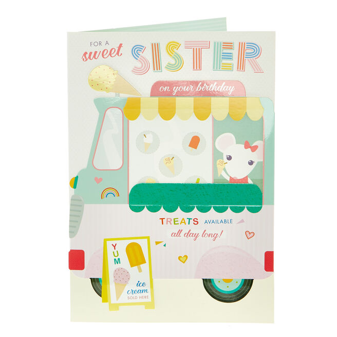 Birthday Card - Sweet Sister Treats