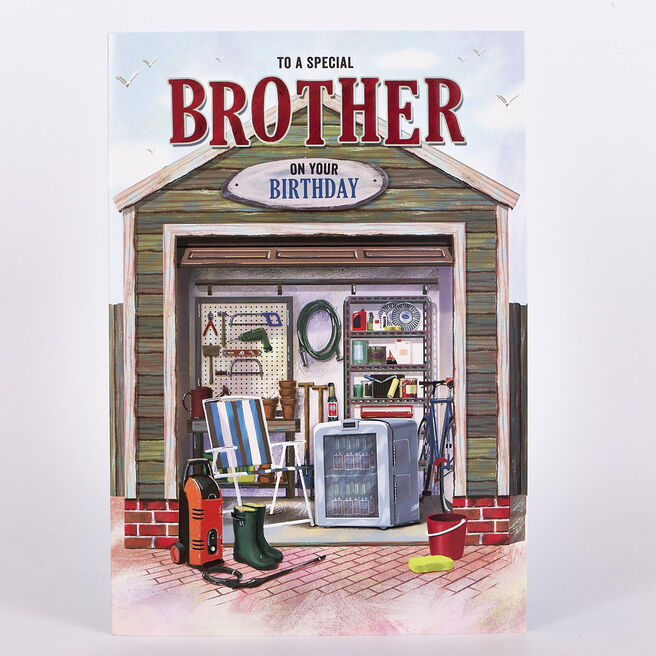 Signature Collection Birthday Card - Brother Garden Shed