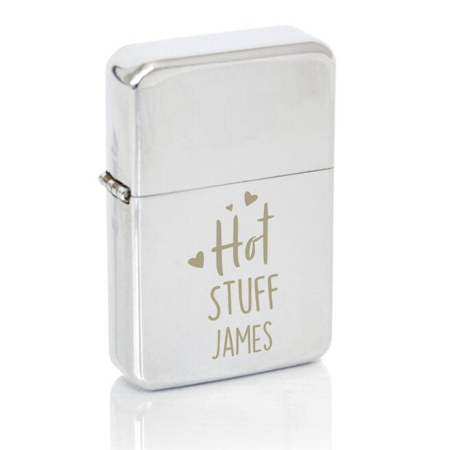 Personalised Lighter - Hot Stuff