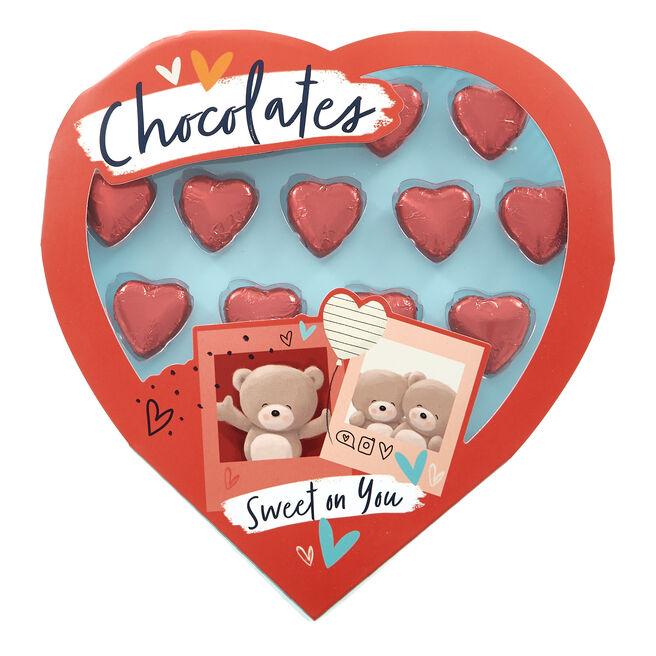 Hugs Heart Chocolate Box 128g