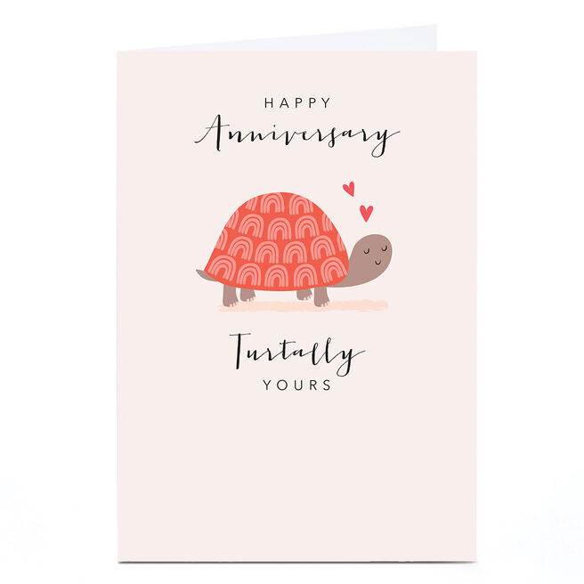 Personalised Klara Hawkins Card - Turtally Yours