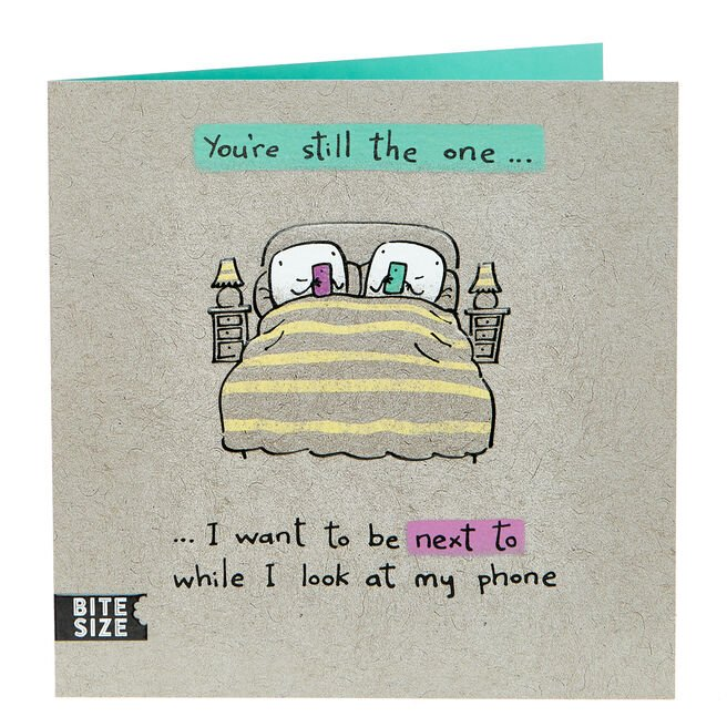 Anniversary Card - You're Still The One