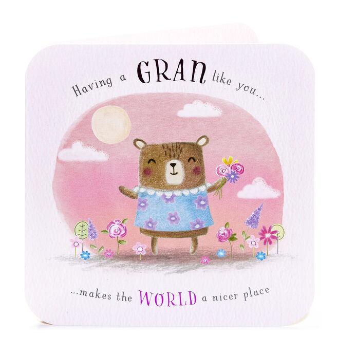 Birthday Card - A Gran Like You...