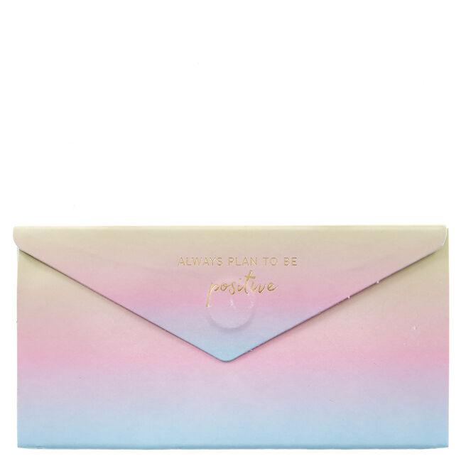Positivity Magnetic Envelope Sticky Notes