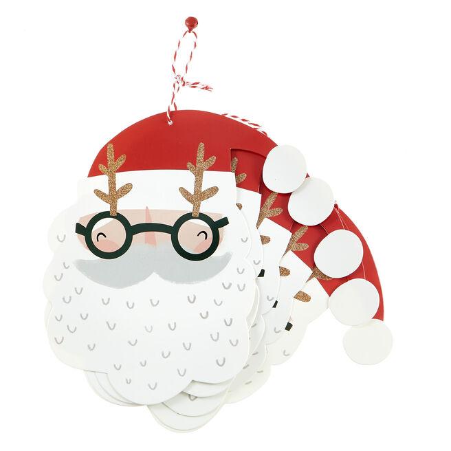 Giant Santa Christmas Gift Tags - Pack Of 8