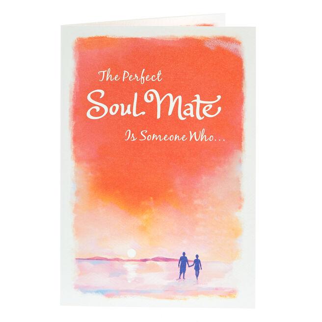 Blue Mountain Arts Card - The Perfect Soul Mate