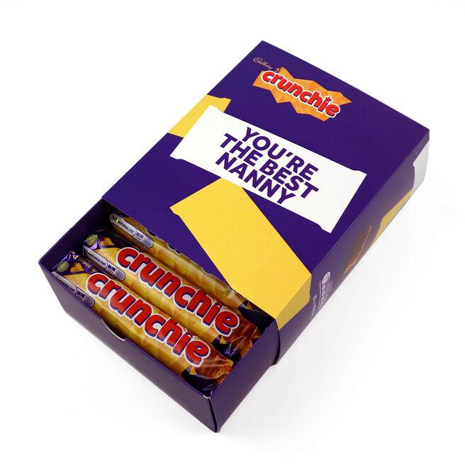 Personalised Crunchie Box - 20 Bars