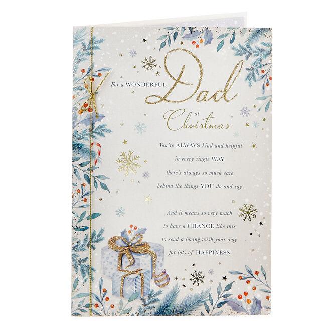 Christmas Card - Wonderful Dad