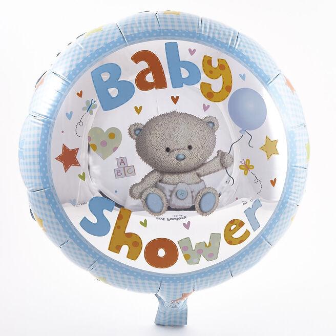 Hugs Boy's Baby Shower Foil Helium Balloon