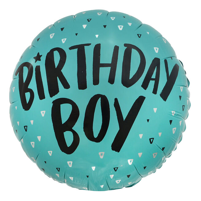 Birthday Boy 18-Inch Foil Helium Balloon