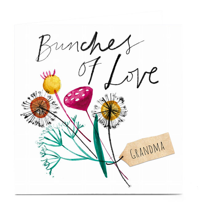 Personalised Emma Valenghi Card - Bunches of Love