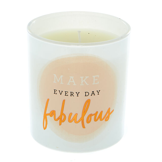 Make Everyday Fabulous Vanilla Scented Candle