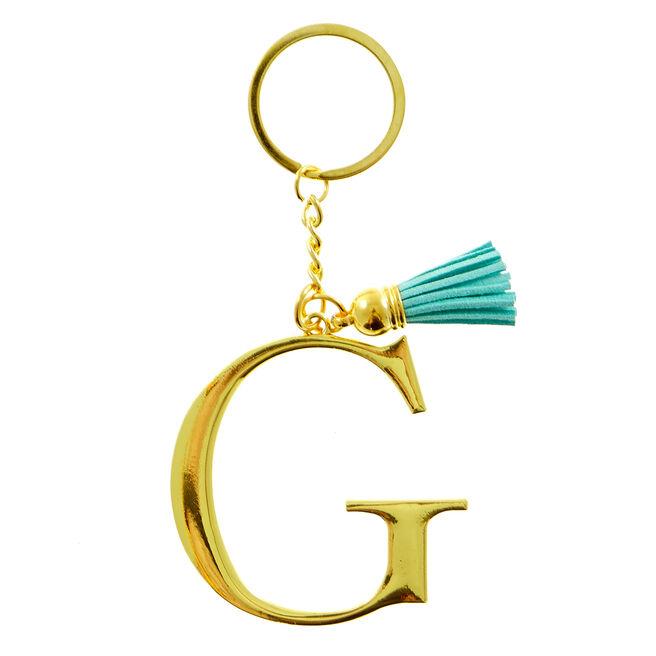 Letter G Key Ring