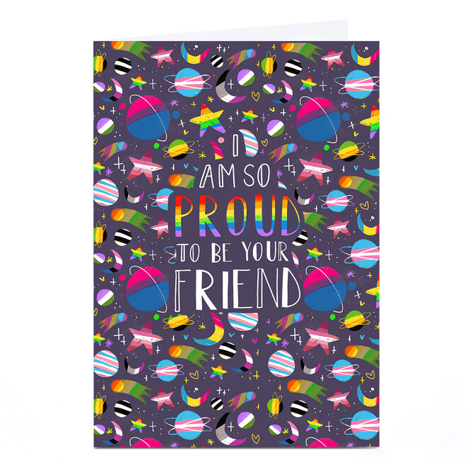 Personalised Raluca Farcas Card - Proud To Be Your Friend