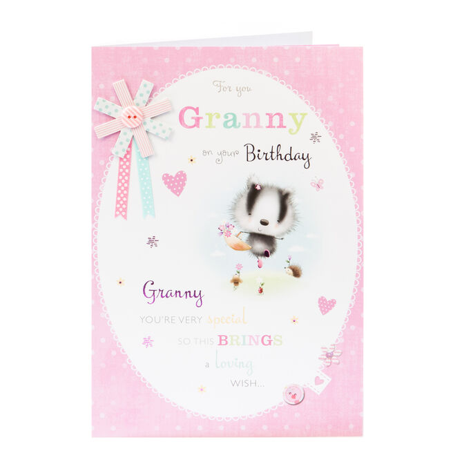 Birthday Card - For You Granny