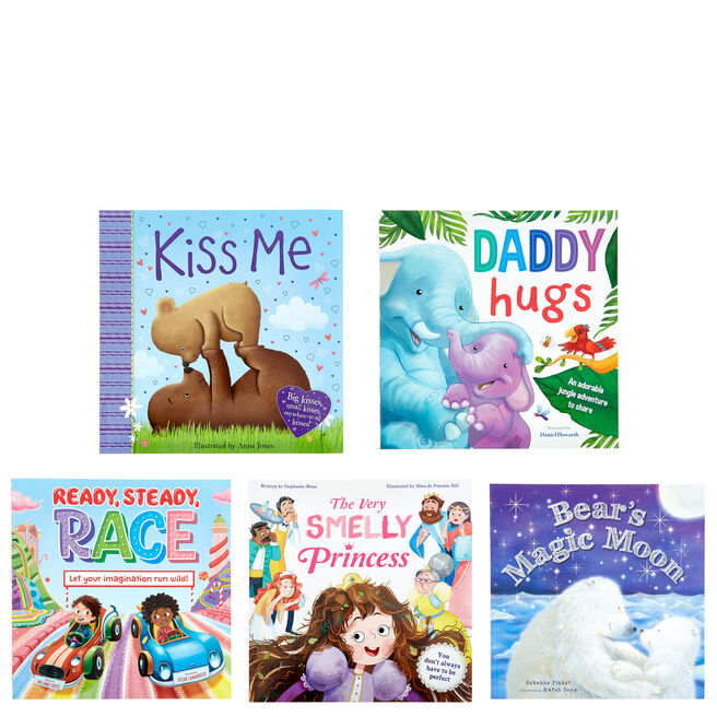 Assorted Children's Story Books - Pack Of 5