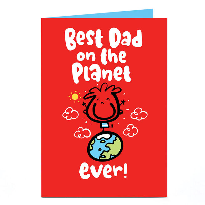 Personalised Fruitloops Father's Day Card - Best Dad On The Planet