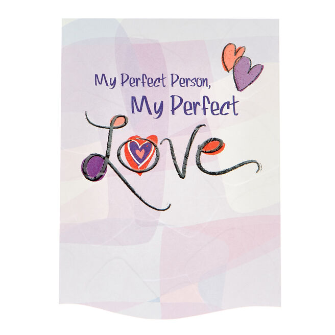 Blue Mountain Arts Card - My Perfect Person