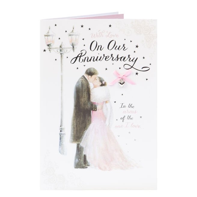 Anniversary Card - With Love On Our Anniversary