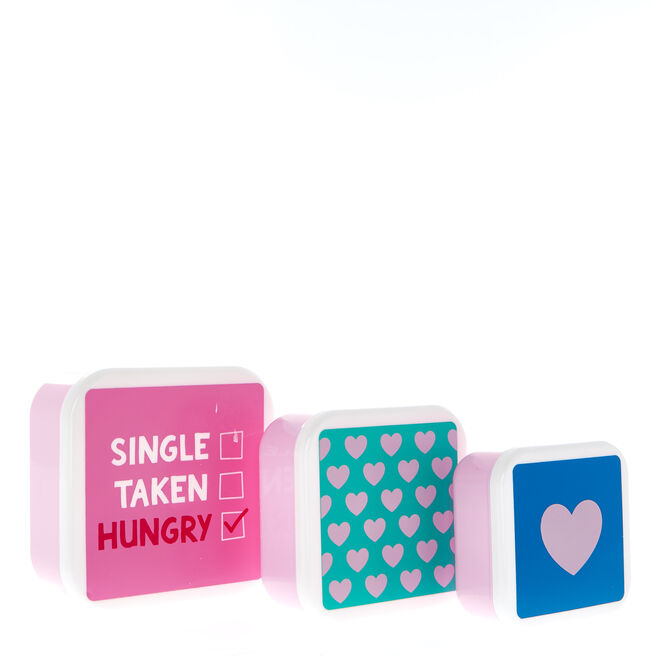 Love Bites Lunch Boxes - Set Of 3