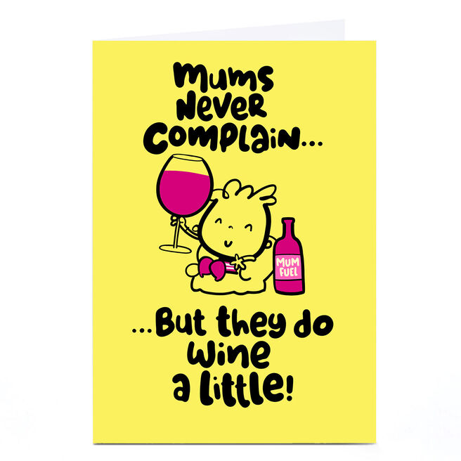 Personalised Fruitloops Mother's Day Card - Mums Never Complain