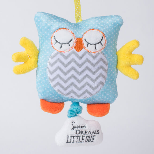 Tiny Treasures Musical Owl Toy