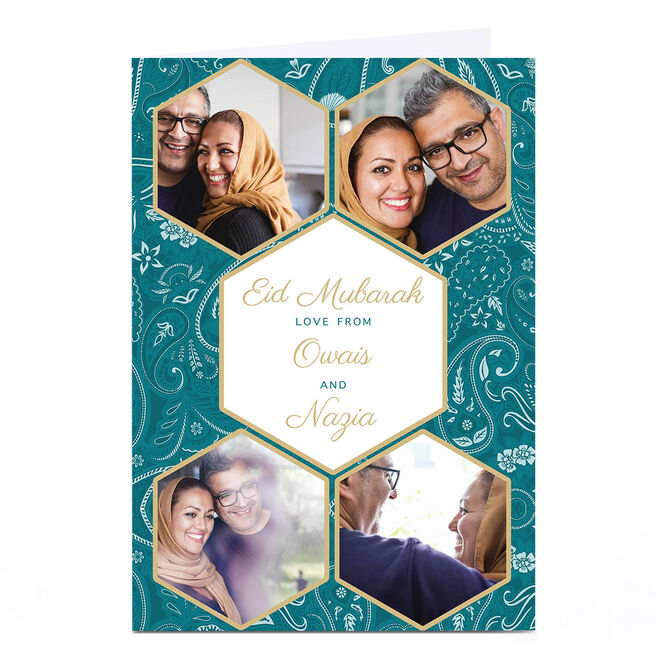 Photo Eid Card - Love From Both