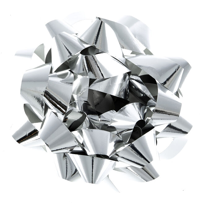 Giant Silver Foil Gift Wrap