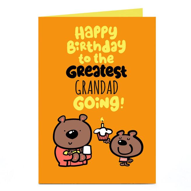Personalised Fruitloops Birthday Card - Greatest Going!