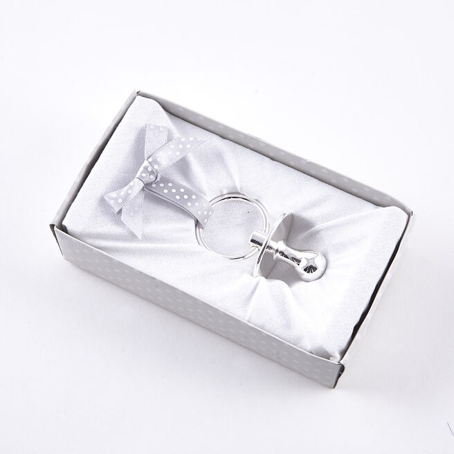 Tiny Treasures Silver Plated Dummy
