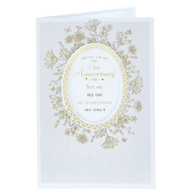 Anniversary Card - You Are My Everything