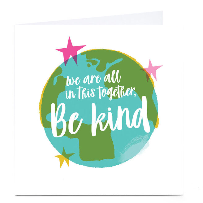 Personalised Hello Munki Card - Be Kind