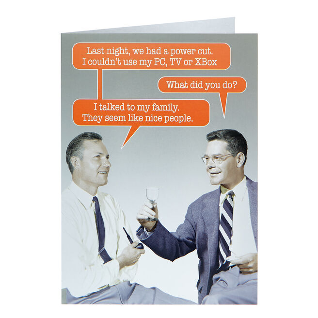 Any Occasion Card - I Talked To My Family