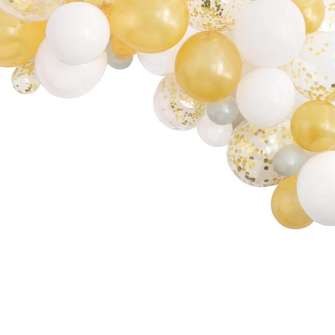 Gold Latex Balloon Arch Kit