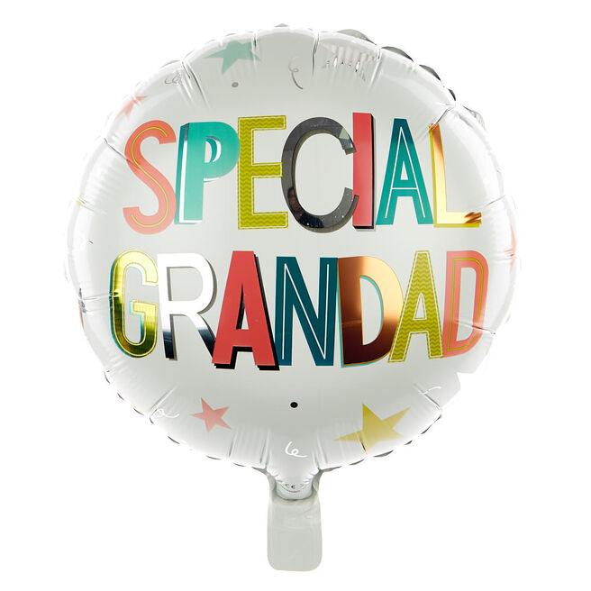 Special Grandad 18 Inch Foil Helium Balloon