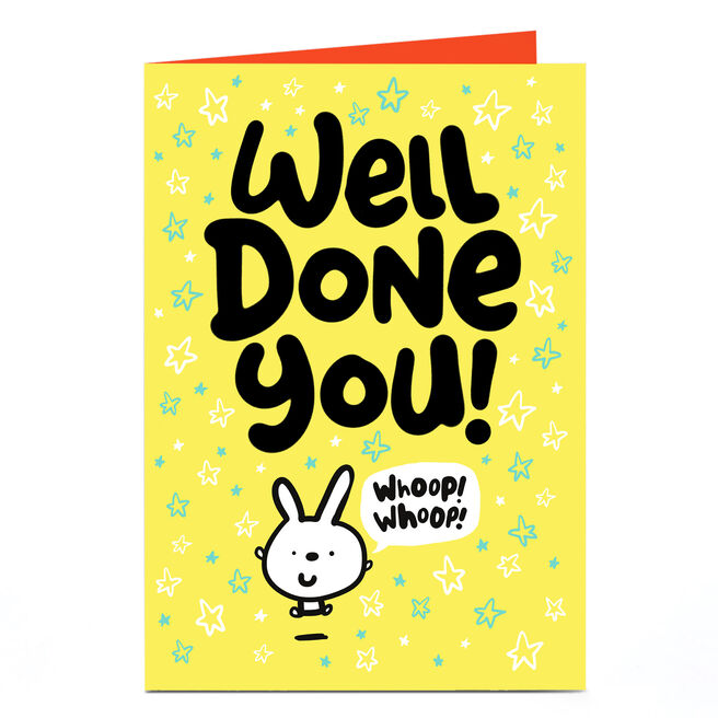 Personalised Fruitloops Congratulations Card - Well Done You!