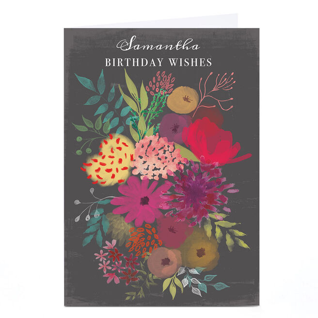 Personalised Emma Isaacs Birthday Card - Birthday Wishes