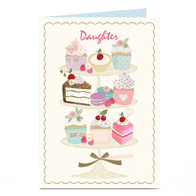 Personalised Card - Afternoon Tea