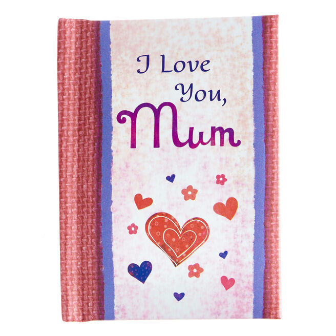 Blue Mountain Arts Keepsake Book - I Love You, Mum