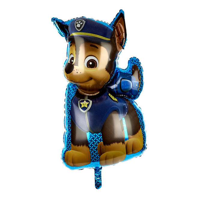 Paw Patrol Chase Supershape Foil Helium Balloon
