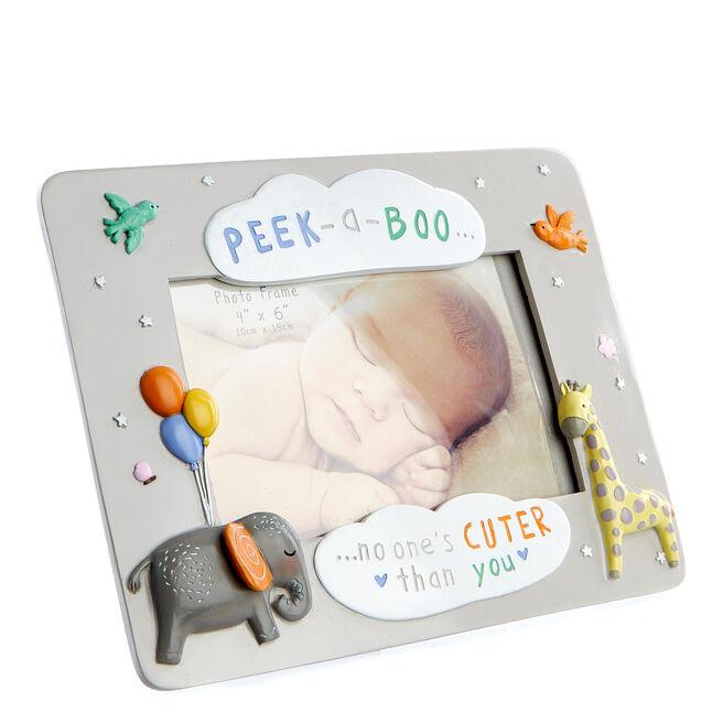 Teeny Wonders Peek-A-Boo Baby Photo Frame