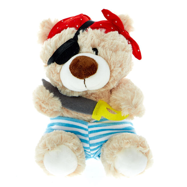 Pirate Bear Soft Toy