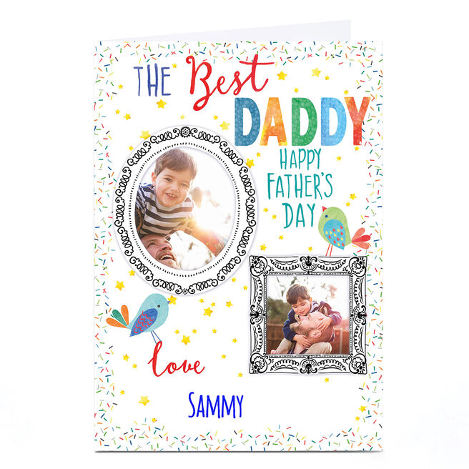 Personalised Nik Golesworthy Father's Day Card - Best Daddy