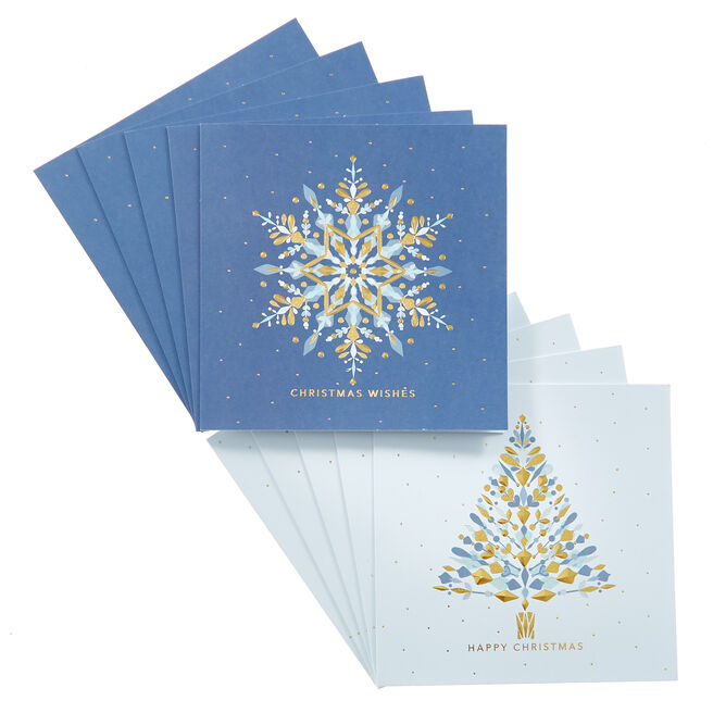 18 Modern Charity Christmas Cards - 2 Designs