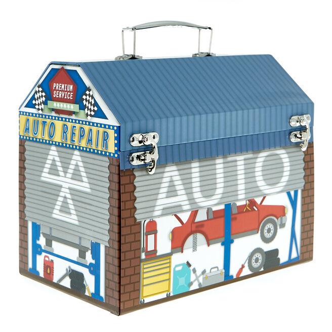 Car Garage Toy Chest Gift Box